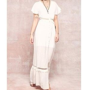 Dresses - White maxi dress